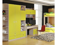 Шкафы и стеллажи для детской