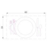 Как подобрать размер обеденного стола