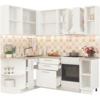Кухонный гарнитур Олива ЛДСП 1,5м на 2м Дуб сонома